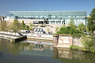 Museum of Modern and Contemporary Art, Strasbourg, Alsace, France, Europe
