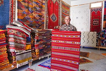 Carpet Shop, Agadir, Southern Morocco, Morocco, North Africa, Africa