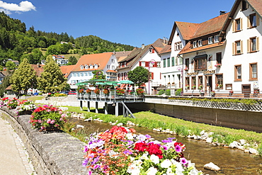 Schiltach, Black Forest, Kinzigtal Valley, Baden-Wurttemberg, Germany, Europe