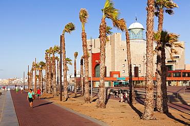 Alfredo Kraus Auditorium, Playa de las Canteras, Las Palmas, Gran Canaria, Canary Islands, Spain, Atlantic, Europe