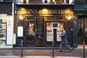 Restaurant Vins et Terroirs, St. Germain des Pres, Paris, Ile de France, France, Europe