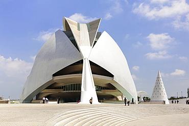 Palacio de las Artes Reina Sofia, the Opera House, City of Arts and Sciences (La Ciudad de las Artes y las Ciencias), Valencia, Comunidad Valencia, Spain, Europe