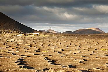 La Geria, Lanzarote, Canary Islands, Spain, Atlantic, Europe
