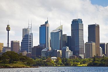 Sydney Coastline showing Sydney Tower, Australia
