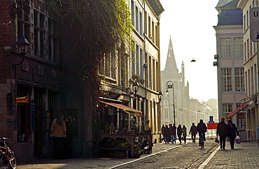 A  street in Ghent, Belgium