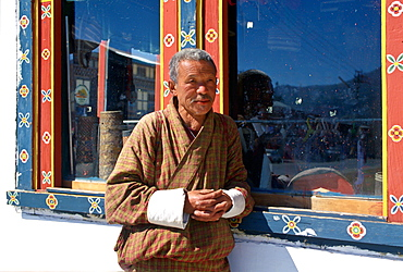 Man in Paro, Butan