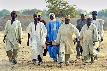 Funeral procession, Burkina Faso (formerly  Upper Volta)