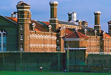 Wormwood Scrubs Prison, London.
