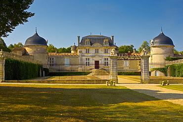 Chateau de Malle,Preignac, in Sauternes regionof France.