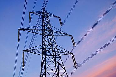 Electricity pylon, England, United Kingdom