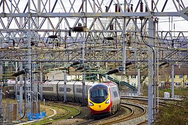 Intercity train, Shropshire, United Kingdom