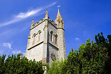 St Thomas Church, Melbury Abbas in Dorset, United Kingdom