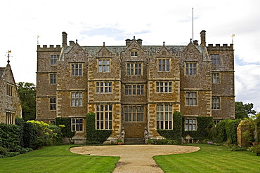 Chastleton House, a Jacobean Manor in the Cotswolds, Oxfordshire, United Kingdom.