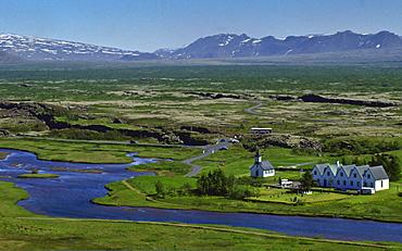 National Park, Thingvellir, Iceland.