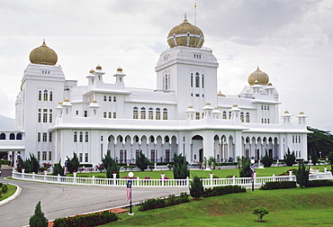 Istana Iskandariah, the royal palace where reigning head of state resides, Malaysia.