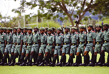 Soldiers of Pacific Islands Force, Papua New Guinea