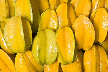 Carambola fruits, Star Fruits, Bangkok, Thailand