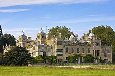 Charlton Park House, home of the Earl of Suffolk and Berkshire,  in Wiltshire, England, United Kingdom