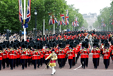 Military Parade, The Mall, London, United Kingdom.