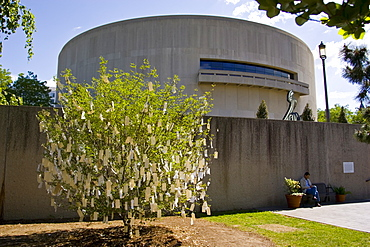Wish Tree for Washington D.C' by Yoko Ono at The Hirshhorn Museum and Sculpture Garden, USA