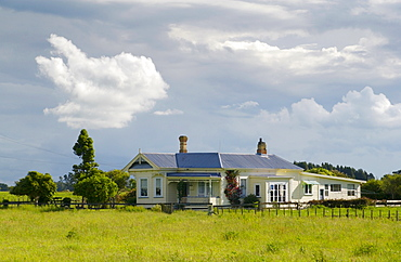 Traditional homestead , North Island, New Zealand