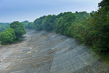 Brooklands Race Track in Surrey, UK