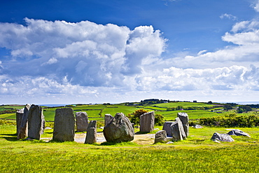 Drombeg Stone Circle, County Clare, West of Ireland
