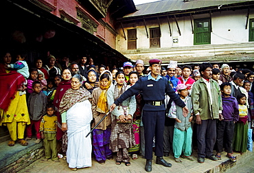 Locals gather for celebration in Nepal