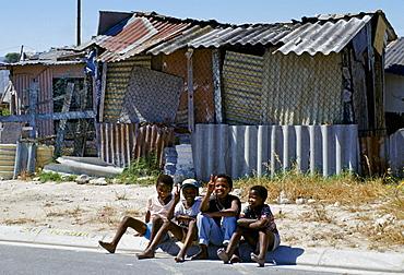 Children in the Alexandra Township, Johannesburg, South Africa