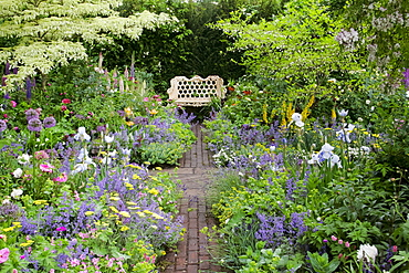 Garden exhibit at the annual Chelsea Flower Show in London
