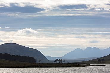 Breathtaking Scottish landscape in the western Highlands of Scotland, United Kingdom, Europe