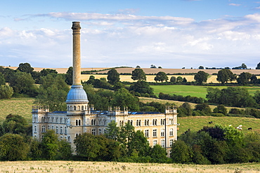 Bliss Mill, restored and renovated 19th century tweed mill, now apartment homes, Chipping Norton, The Cotswolds, Oxfordshire, England, United Kingdom, Europe
