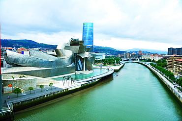 Guggenheim Museum, Bilbao, Pais Vasco, Euskadi, Spain, Europe