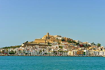 Ibiza old town, Ibiza, Balearic Islands, Spain, Mediterranean, Europe