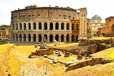 Theatre of Marcellus, UNESCO World Heritage Site, Rome, Lazio, Italy, Europe