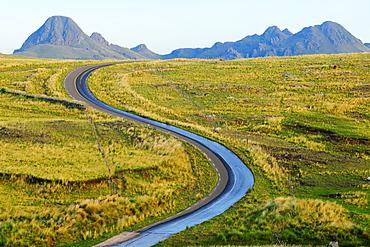 Road to La Carolina, San Luis, Argentina, South America