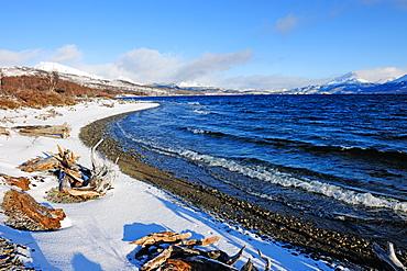 Silver Lake, Patagonia, Argentina, South America