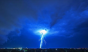 Lightning and storm, Buenos Aires, Argentina, South America