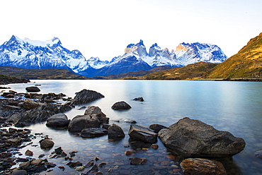 Horns of Paine, Torres del Paine National Park, Patagonia, Chile, South America