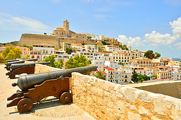 Old Town, Ibiza, Balearic Islands, Spain, Europe