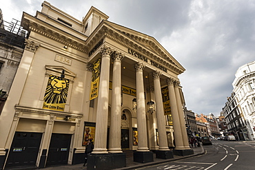 Lyceum Theatre, off The Strand, London, England, United Kingdom, Europe