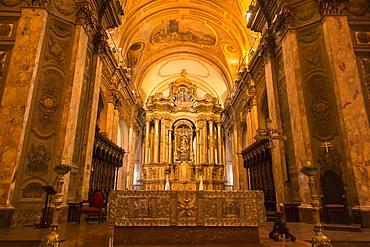Interior of Catedral Metropolitana (Metropolitan Cathedral), Plaza de Mayo, The Center, Buenos Aires, Argentina, South America