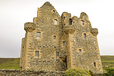 Scalloway Castle, dating from 1599, Mainland, Shetland Islands, Scotland, United Kingdom, Europe