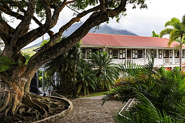 Montpelier Plantation, restored sugar plantation where Nelson married, boutique hotel, Nevis, St. Kitts and Nevis, West Indies, Caribbean, Central America
