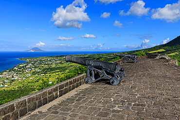 Western Place of Arms, Brimstone Hill Fortress National Park, UNESCO World Heritage Site, St. Kitts and Nevis, Leeward Islands, West Indies, Caribbean, Central America
