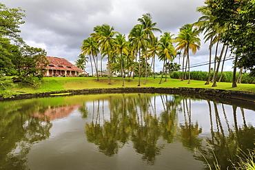 Distillerie Longueteau, historic rum distillery, Sainte Marie, Capesterre Belle Eau, Basse Terre, Guadeloupe, Leeward Islands, West Indies, Caribbean, Central America