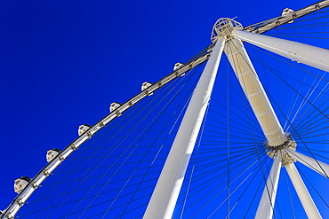 High Roller Observation Wheel section, LINQ Development, Las Vegas, Nevada, United States of America, North America