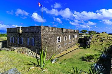 Fort Napoleon, Bourg des Saintes, Terre de Haut, Iles Des Saintes, Les Saintes, Guadeloupe, Leeward Islands, West Indies, Caribbean, Central America