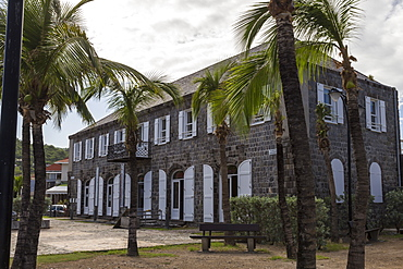 Wall House Museum, Gustavia, St. Barthelemy (St. Barts) (St. Barth), West Indies, Caribbean, Central America
