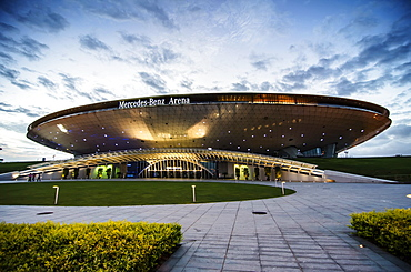 Mercedes Benz Arena in Shanghai Pudong, Shanghai, China, Asia